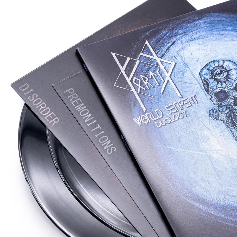 Fortíð - World Serpent Vinyl 2-LP Gatefold     Black