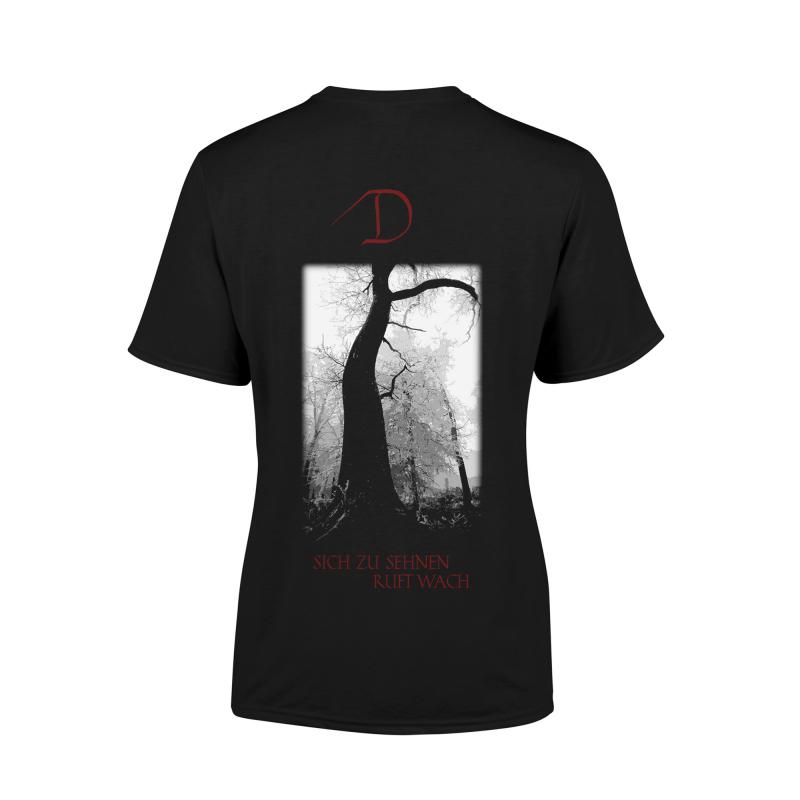 Dornenreich - Du wilde Liebe sei Girlie-Shirt  |  M  |  black