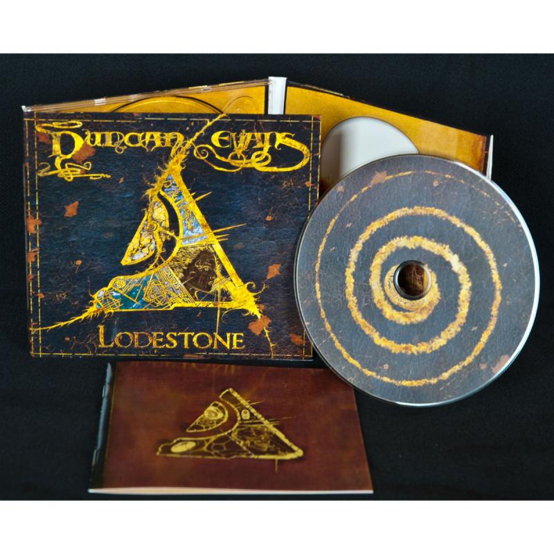 Duncan Evans - Lodestone Vinyl Gatefold LP     black