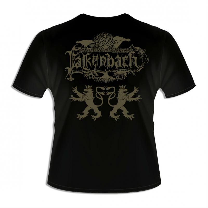 Falkenbach - Asa T-Shirt     M     black
