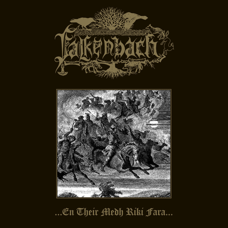 Falkenbach - ...en their medh riki fara... Vinyl Gatefold LP  |  Grey