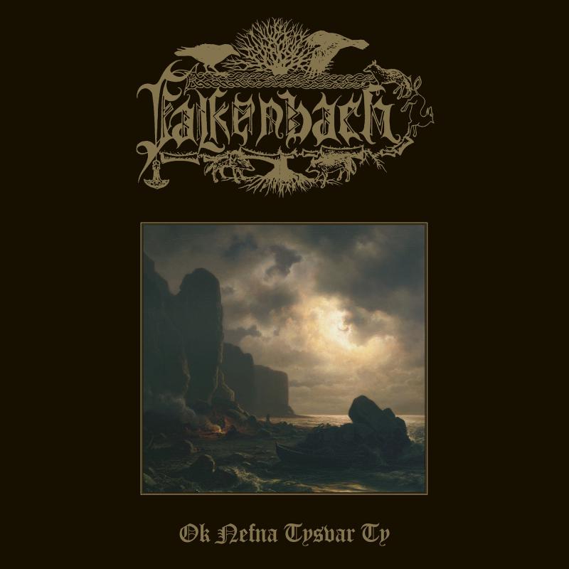 Falkenbach - Ok nefna tysvar Ty Vinyl Gatefold LP  |  Brown