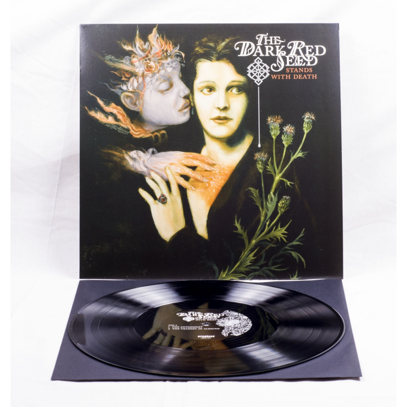 """The Dark Red Seed - Stands With Death Vinyl 12"""" EP"""