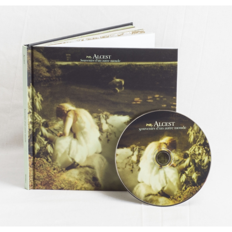 Alcest - Souvenirs D'un Autre Monde Book CD