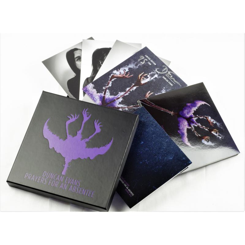 Duncan Evans - Prayers for an Absentee CD-2 Box