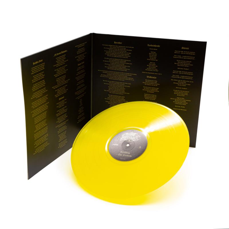 Falkenbach - Heralding - The Fireblade Vinyl Gatefold LP  |  Sun Yellow