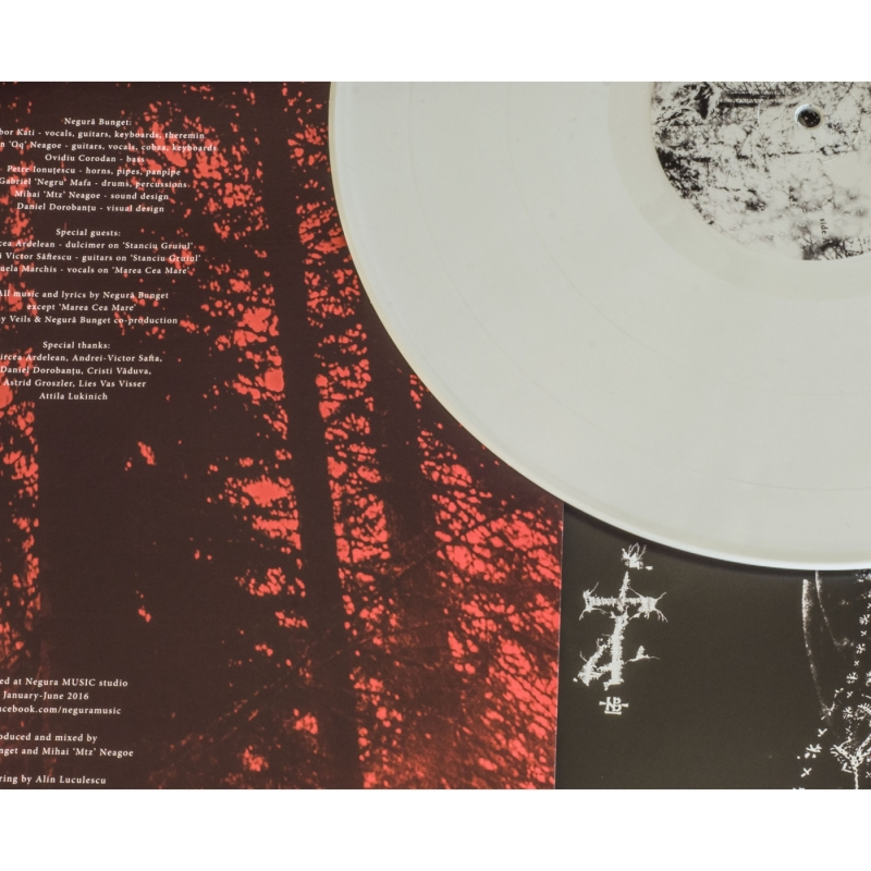 Negura Bunget - ZI Vinyl Gatefold LP     white