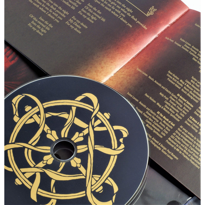 The Dark Red Seed - Becomes Awake CD Digipak