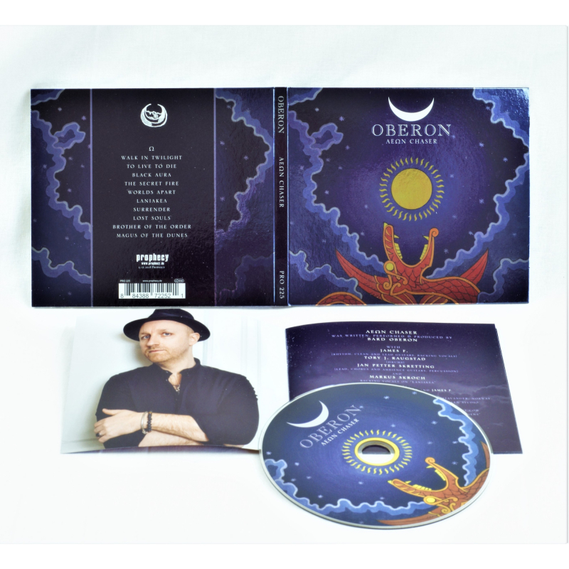 Oberon - Aeon Chaser CD Digipak