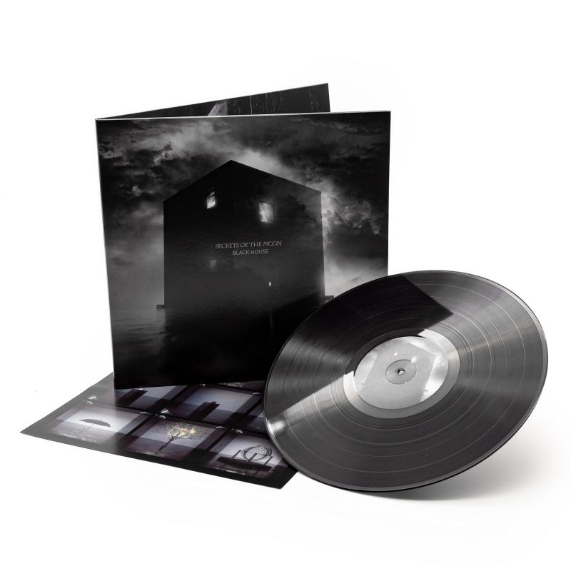 Secrets Of The Moon - Black House Vinyl Gatefold LP     Black