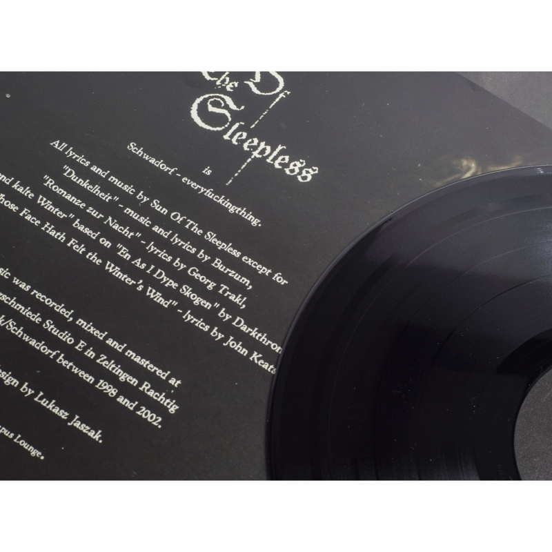 Sun of the Sleepless - Shadows Of The Past Vinyl  |  black
