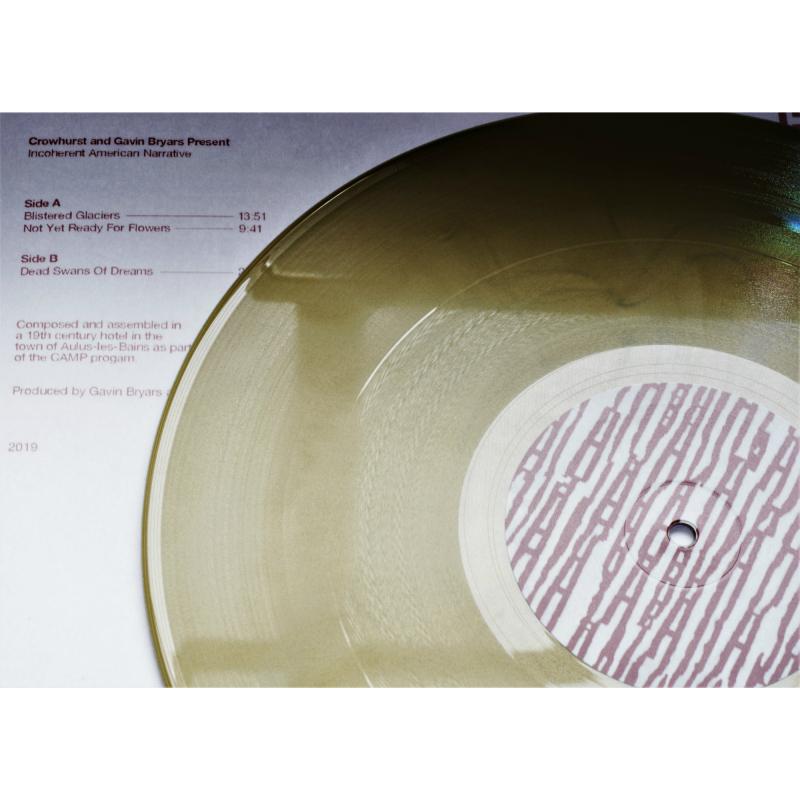 Crowhurst - Crowhurst and Gavin Bryars present Incoherent American Narrative Vinyl Gatefold LP  |  Gold