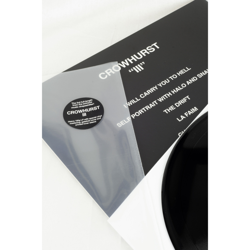 Crowhurst - III Vinyl Gatefold LP  |  Black