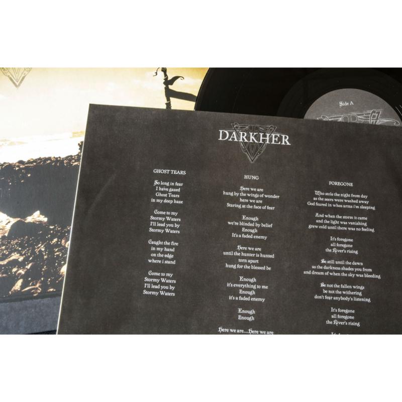 "Darkher - The Kingdom Field Vinyl 12"" EP  |  white"