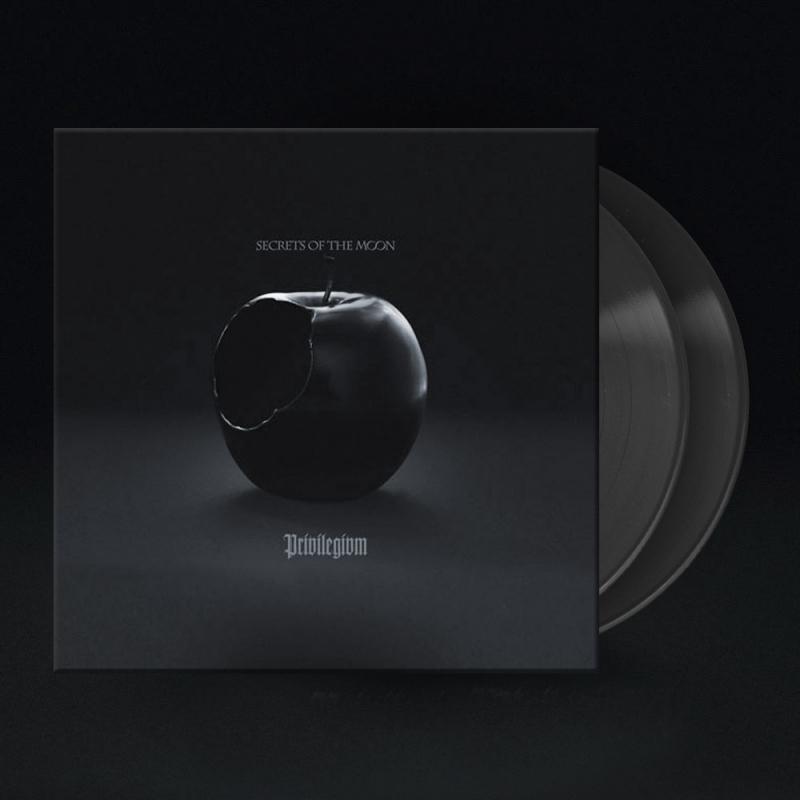 Secrets Of The Moon - Privilegivm Vinyl 2-LP Gatefold     grey