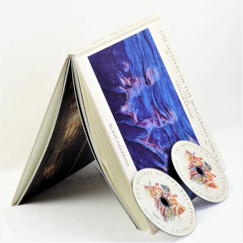 The Mystery Of The Bulgarian Voices feat. Lisa Gerrard - BooCheeMish Artbook 2-CD  |  PRO 228 LU