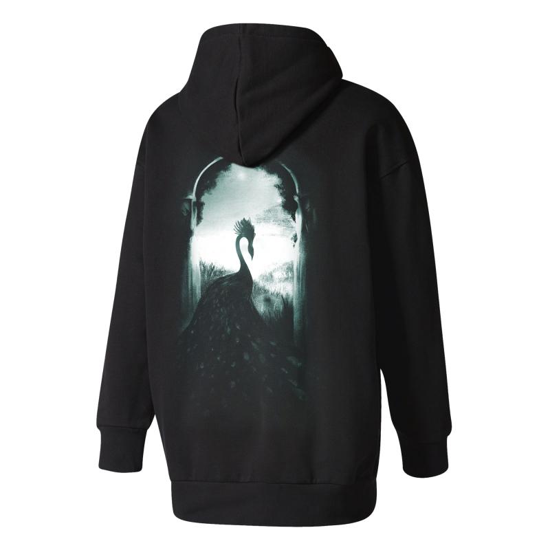 Alcest - Les Voyages De L'Âme 2015 Hooded Sweater     M     black