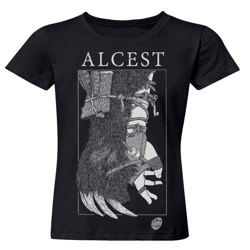 Alcest - Oiseaux De Proie Girlie-Shirt  |  M  |  black