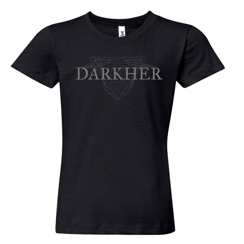 Darkher - Logo Girlie-Shirt  |  S  |  black