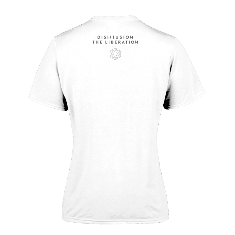 Disillusion - The Liberation Girlie-Shirt  |  M  |  White