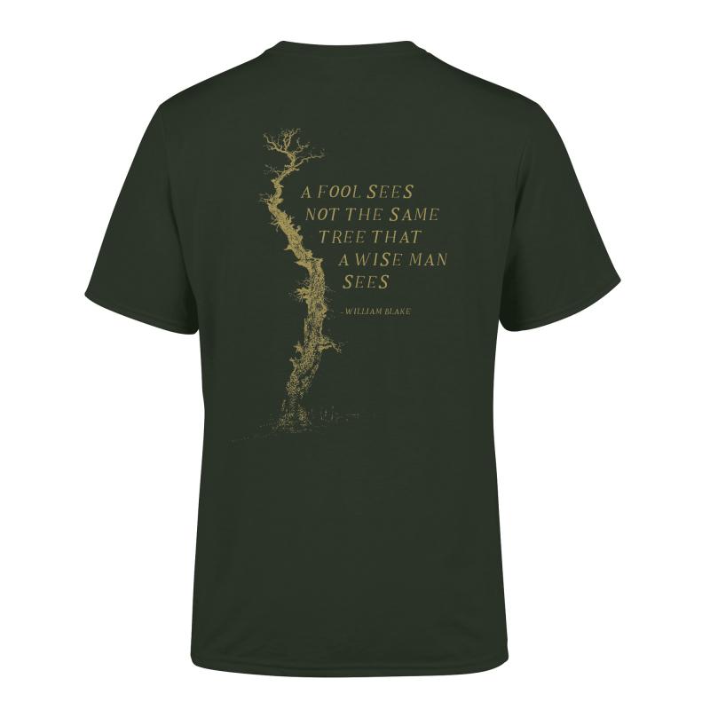 Empyrium - Über den Sternen T-Shirt  |  S  |  green