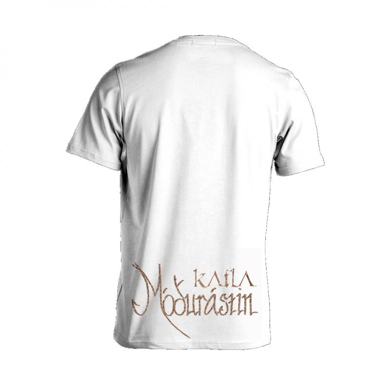 Katla - Mó∂urástin Girlie-Shirt  |  L  |  white