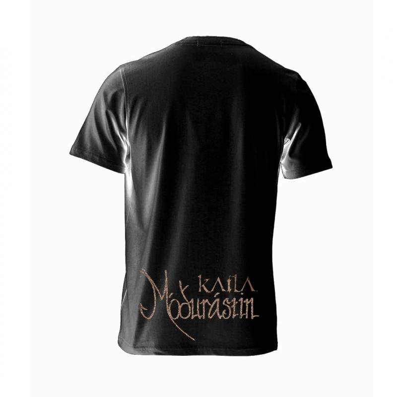 Katla - Mó∂urástin (black) T-Shirt  |  L  |  black