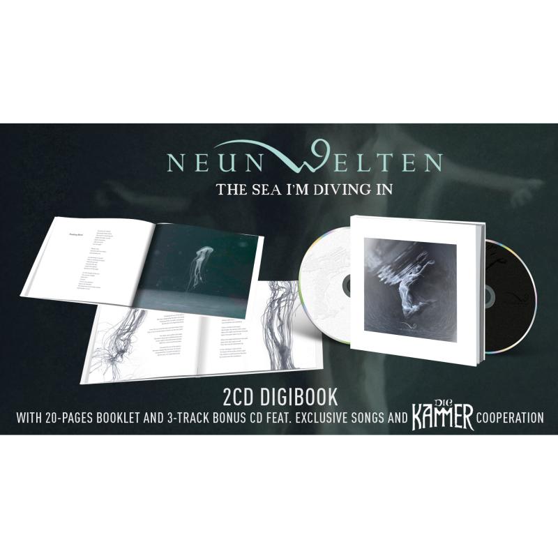 Neun Welten - The Sea I'm Diving In CD-2 Digibook