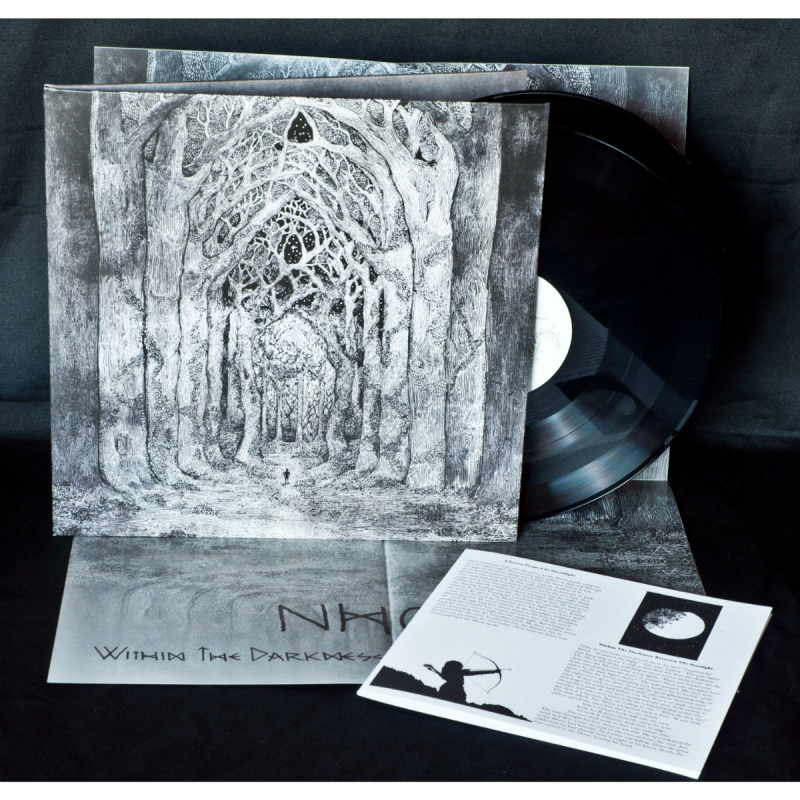 Nhor - Within The Darkness Between The Starlight Vinyl 2-LP Gatefold     Black