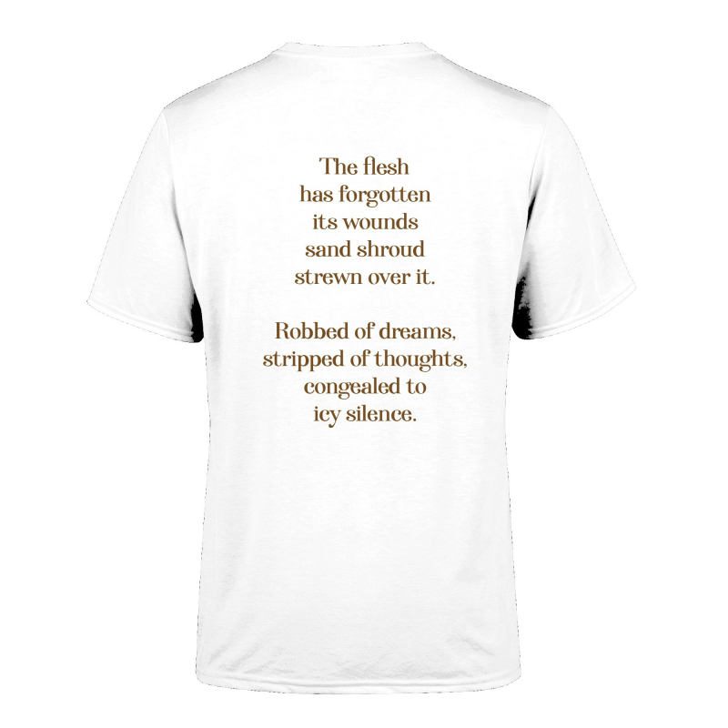 Noekk - The Secret Beaker T-Shirt  |  XL  |  White