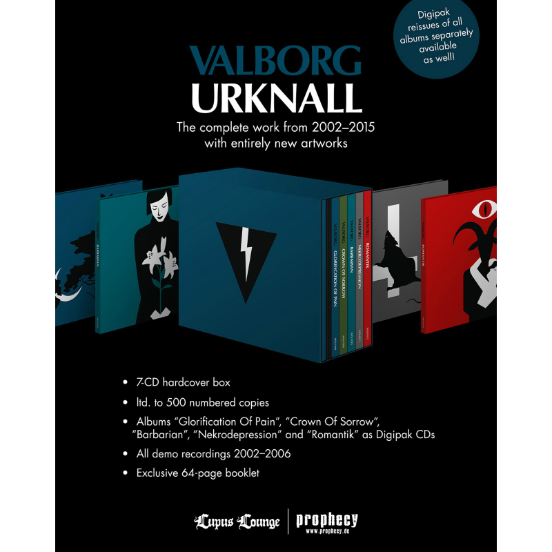 Valborg - Urknall CD-7 Box