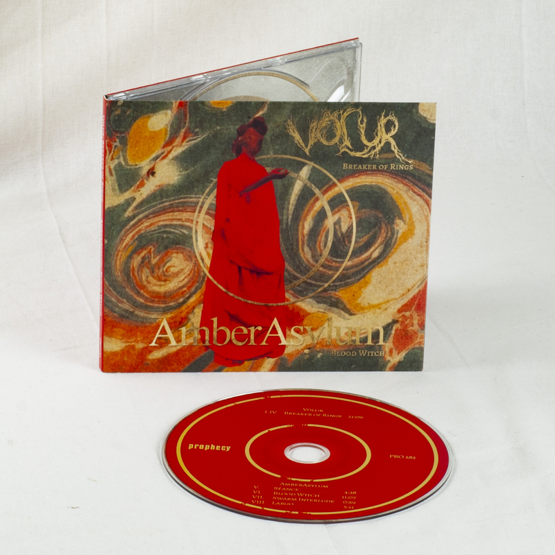 Völur - Breaker Of Rings / Blood Witch (Völur / Amber Asylum) CD Digipak
