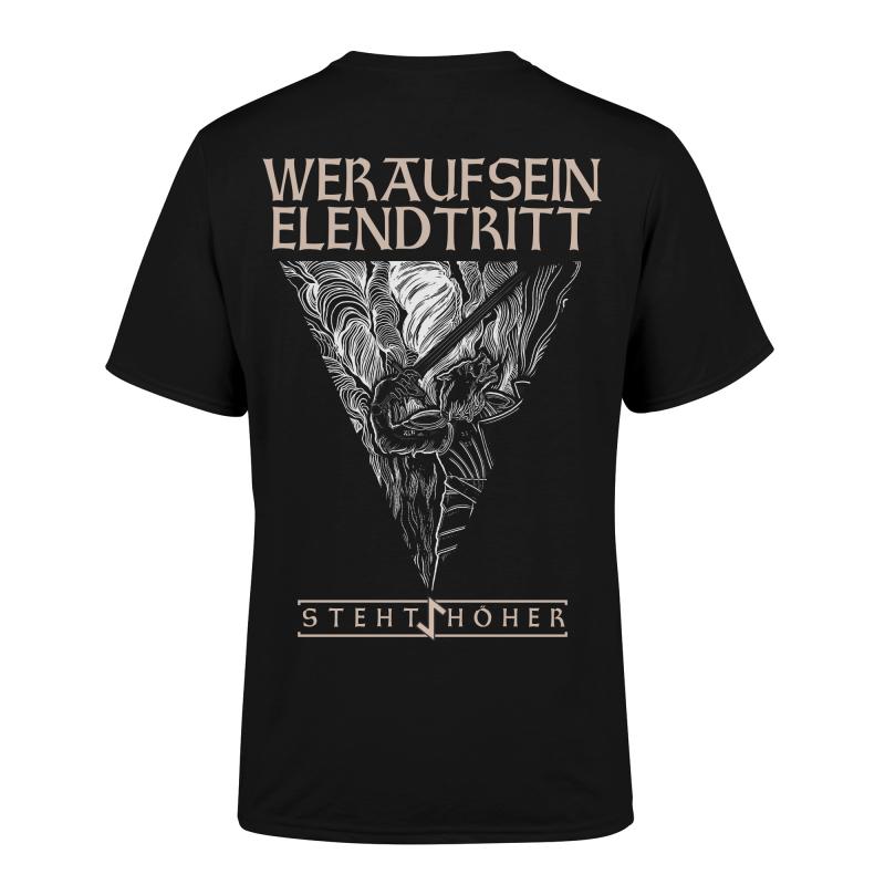 Vrimuot - Elend Girlie-Shirt  |  L  |  Black