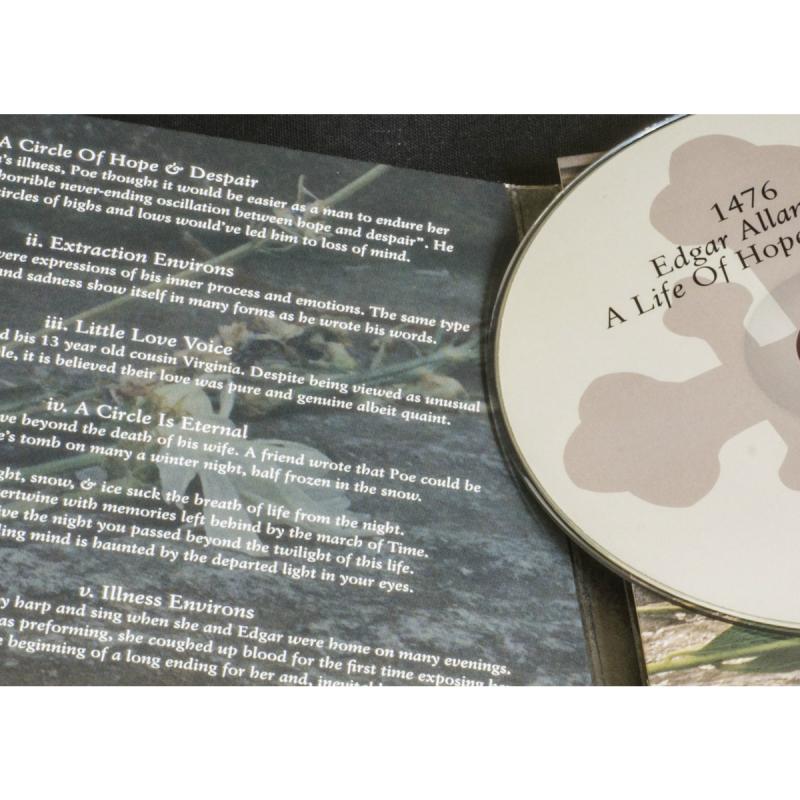1476 - Edgar Allen Poe: A Life Of Hope & Despair CD Digipak