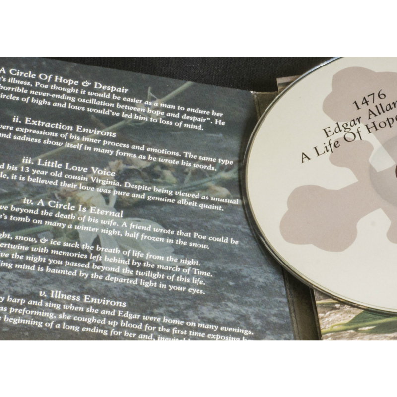1476 - Edgar Allen Poe: A Life Of Hope & Despair CD Digipak