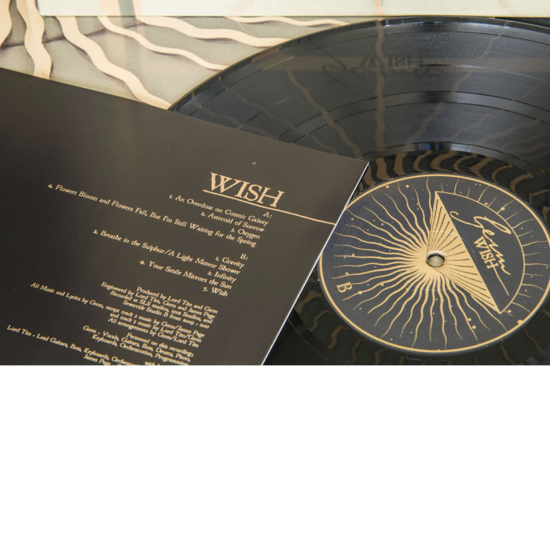 Germ - Wish Vinyl Gatefold LP     black
