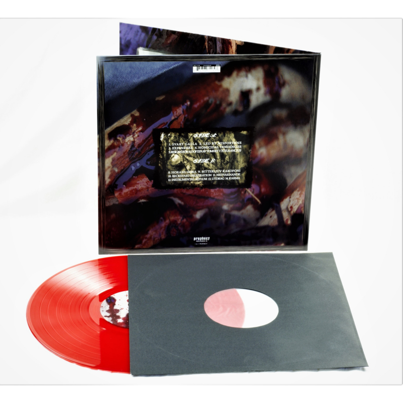 Lifelover - Sjukdom Vinyl Gatefold LP  |  red