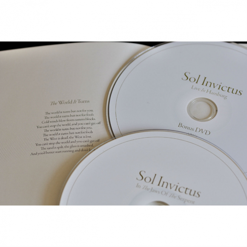 Sol Invictus - In the Jaws of the Serpent CD+DVD Digipak