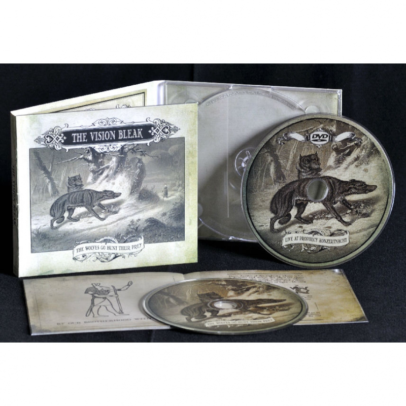 The Vision Bleak - The Wolves Go Hunt Their Prey LUXUS EDITION CD-2 Digipak