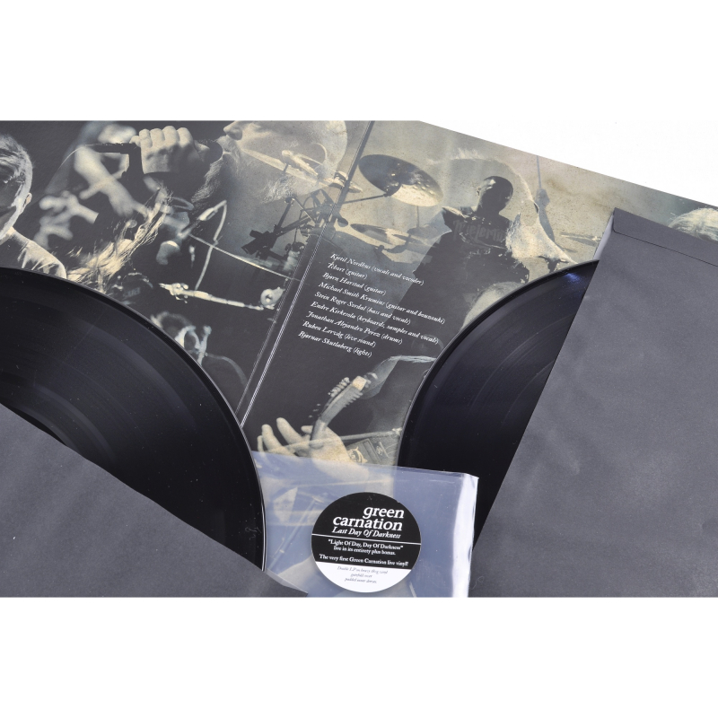 Green Carnation - Last Day Of Darkness Vinyl 2-LP Gatefold     black