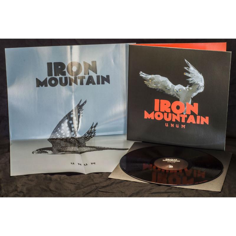 Iron Mountain - Unum Vinyl Gatefold LP  |  black
