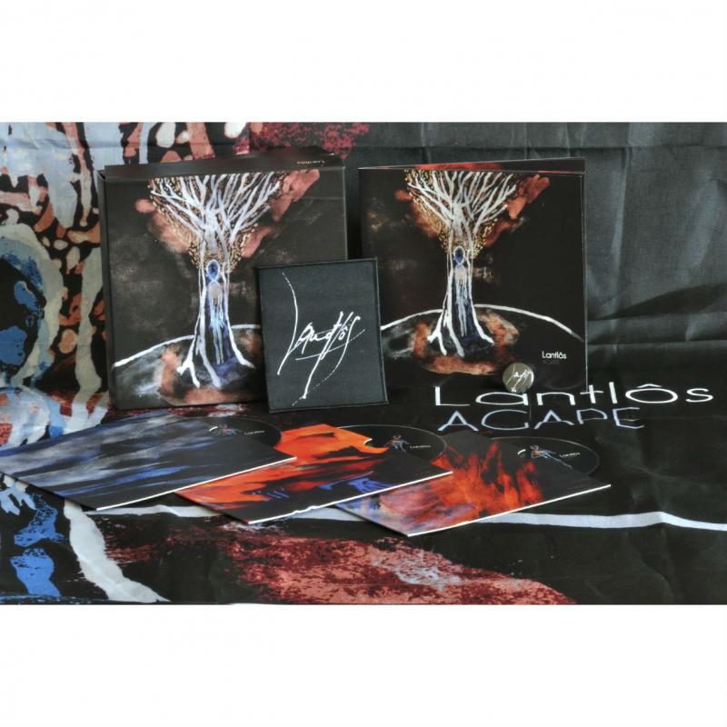 Lantlôs - Agape Vinyl Gatefold LP  |  red