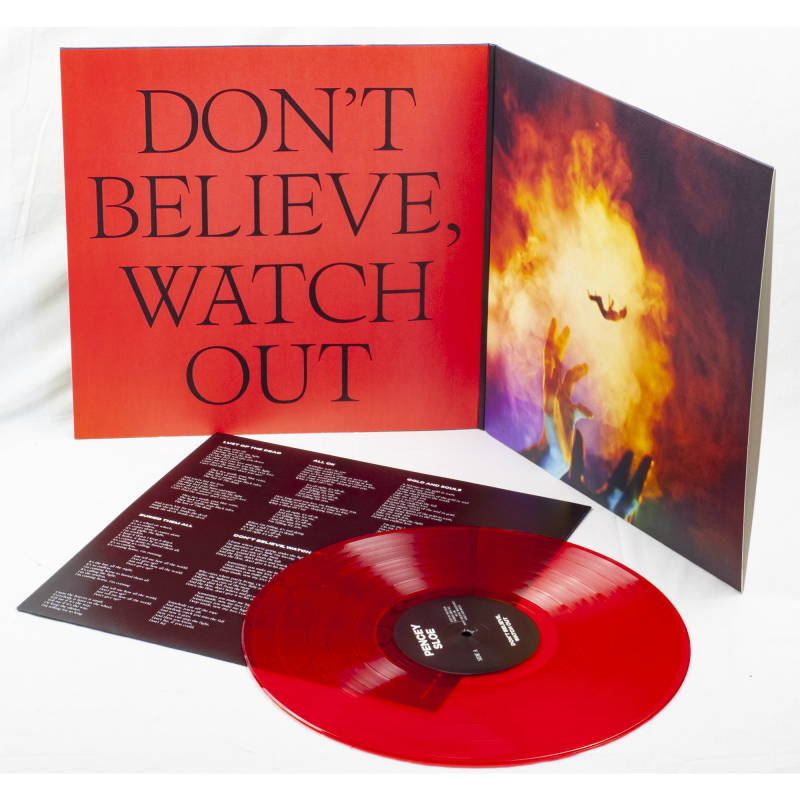 Pencey Sloe - Don't Believe, Watch Out Vinyl LP  |  Red