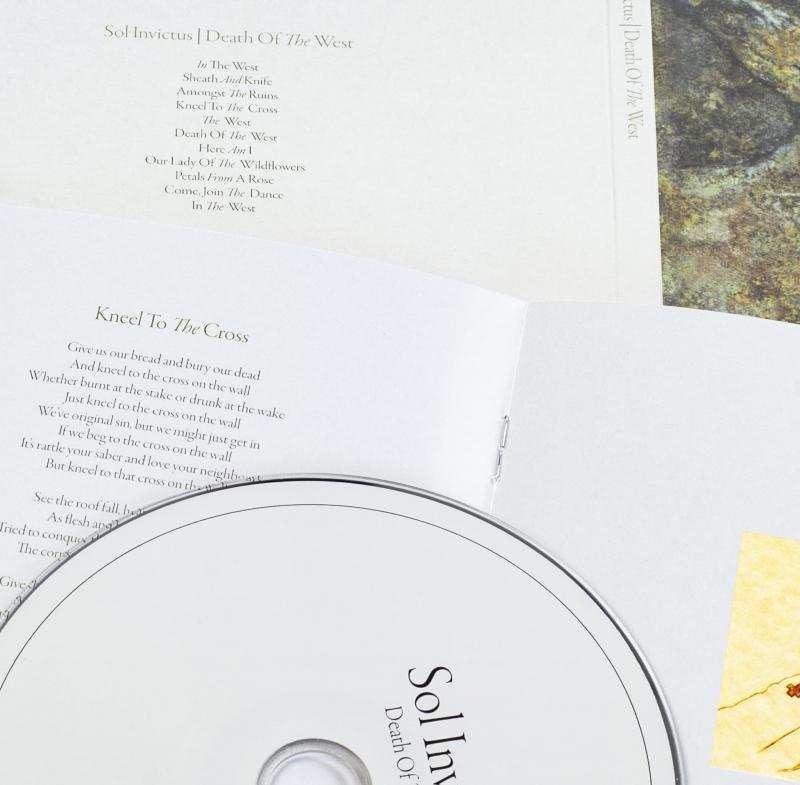 Sol Invictus - Death of the West CD Digipak