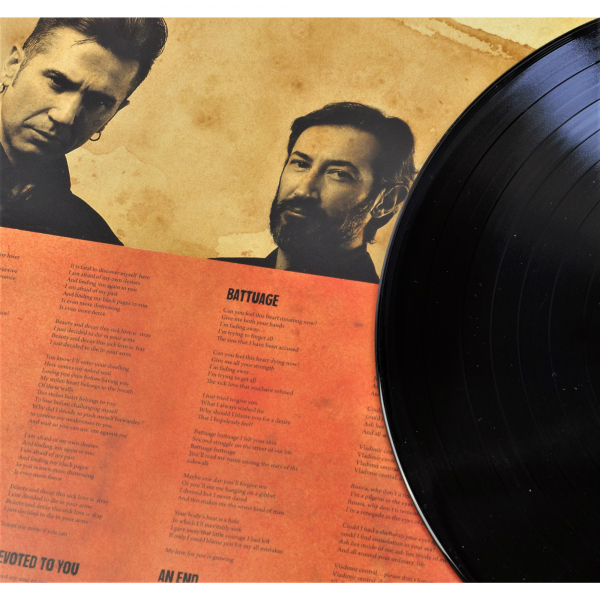 Spiritual Front - Amour Braque Vinyl Gatefold LP | black