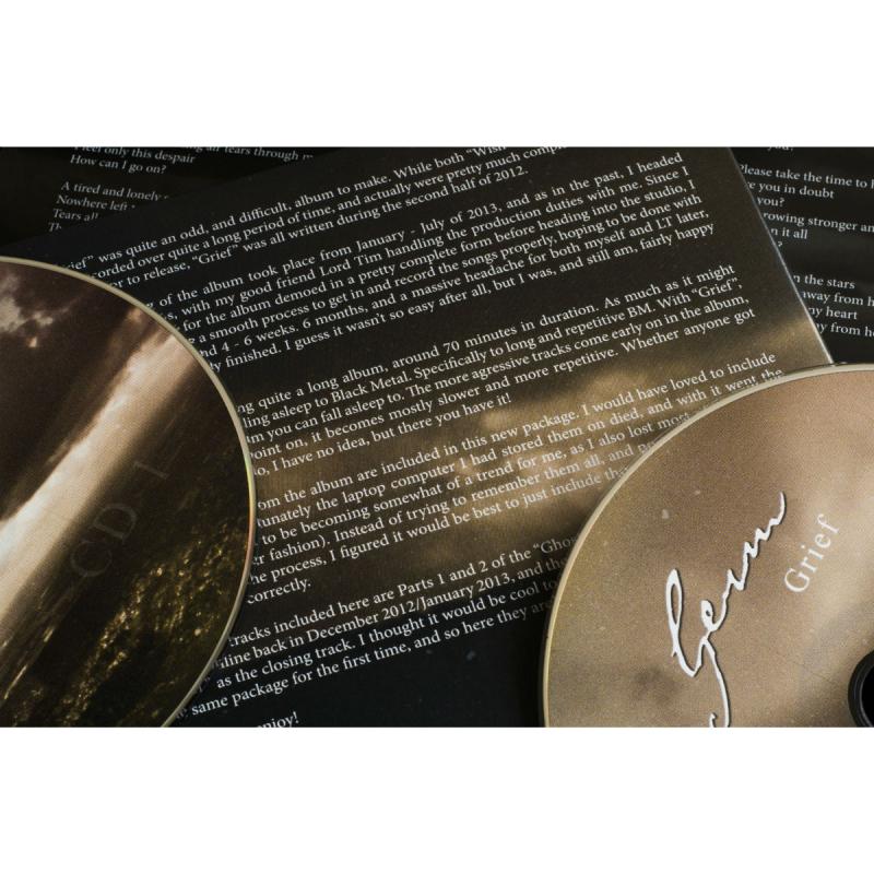 Germ - Grief Vinyl 2-LP Gatefold     black