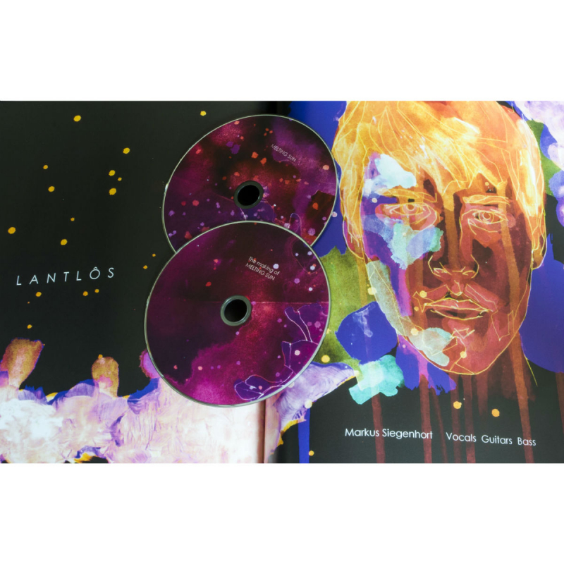 Lantlôs - Melting Sun Super Jewelbox CD
