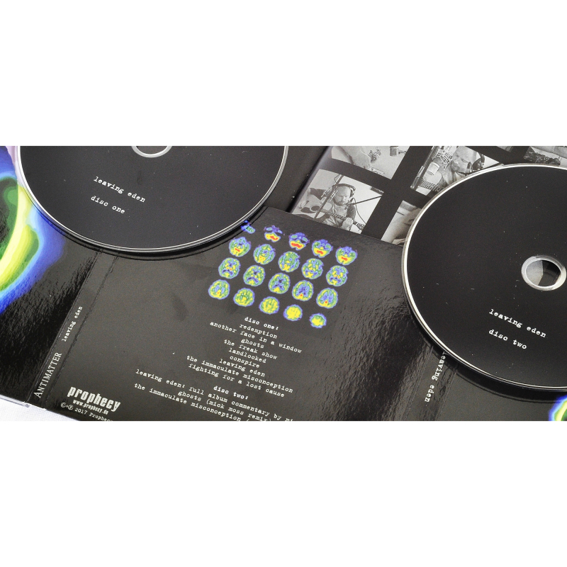 Antimatter - Leaving Eden CD-2 Digipak