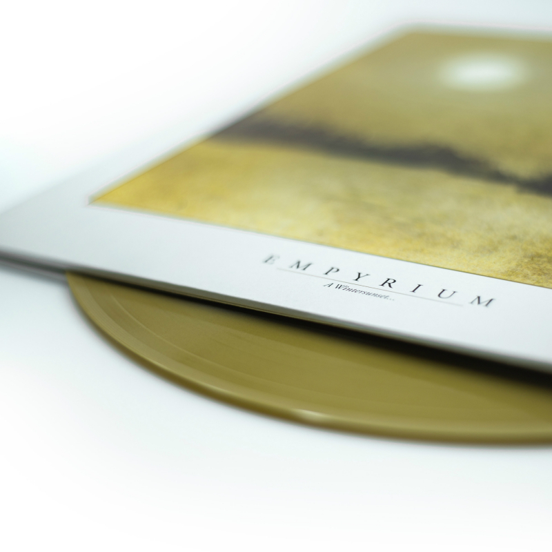 Empyrium - A Wintersunset... Vinyl Gatefold LP  |  Gold