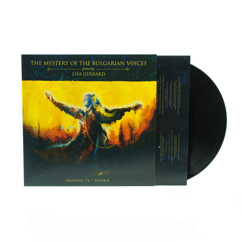 The Mystery Of The Bulgarian Voices feat. Lisa Gerrard - Shandai Ya / Stanka Vinyl LP  |  Black